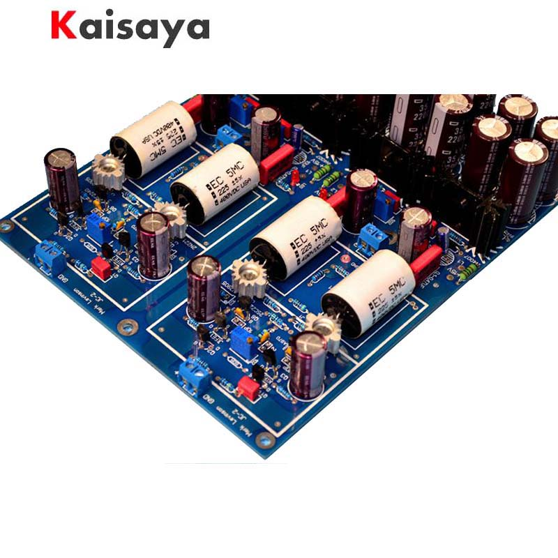 JC-2 Preamplifier Gold seal Class A Dual differential FET input PER-AMP Finished board цена