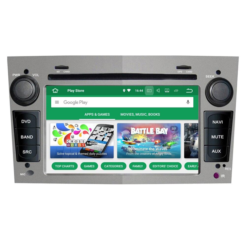 RoverOne Android 8.0 Octa Core Car Radio DVD GPS Bluetooth Media For Opel Astra Zafira Vectra Combo Antara Vivaro Meriva Corsa