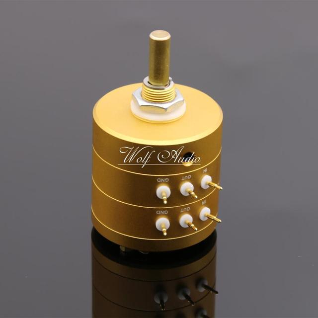 New 24 Steps Dual Channel Serial Type Volume Potentiometer Vishay Dale Resistors For Amplifier