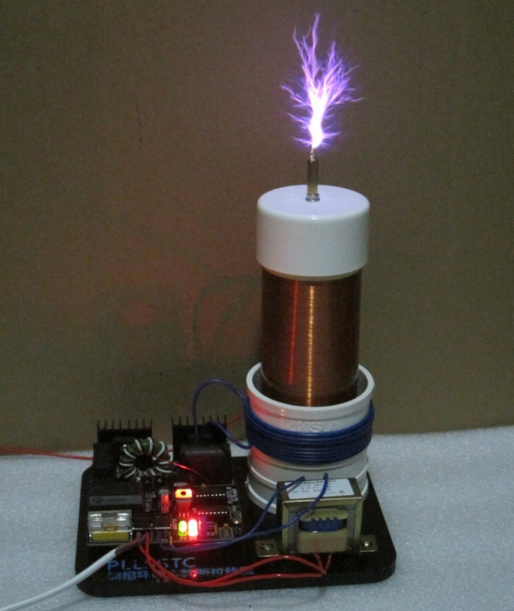 2017 New 220v PLLSSTC phase-locked loop solid state Tesla Coil For SSTC drive board lab цена и фото