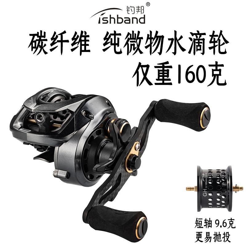 2019NEW MADMOUSE fishband 100hg 101hg Right Left Hand Baitcasting Carbon rocker arm fishing reel 11 1BB