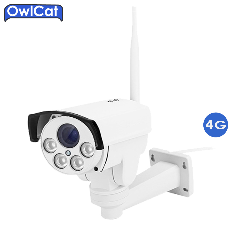 OwlCat SONY323 HD 1080P 960P 5X Auto Zoom Focu Outdoor PTZ Bullet WIFI IP Camera Wireless 4G SIM Card AP Motion Security camera диля 978 5 88503 960 4