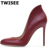platform shoes casual elegant chaussure femme pumps hot selling sapatos femininos warm thin high heels 12 cm black wind red