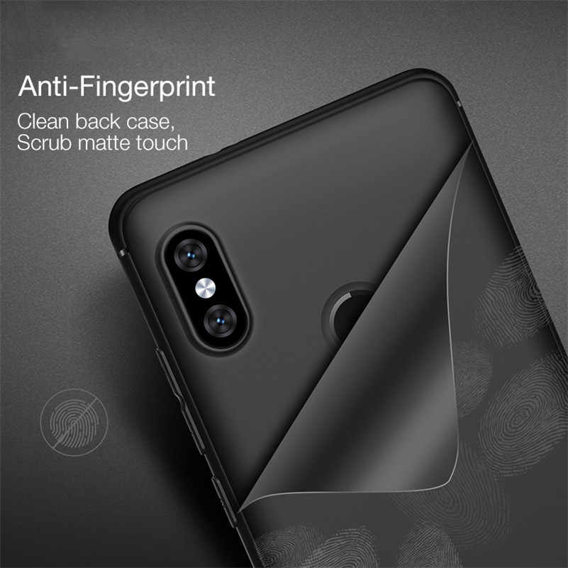 Soft TPU For Redmi S2 Case Redmi 5 Plus 4X 4A Note 4X Note 5 5A 6A 6 For Xiaomi Mi 8 5X 6X A2 Mix 2 Matte Frosted Silicon Cover