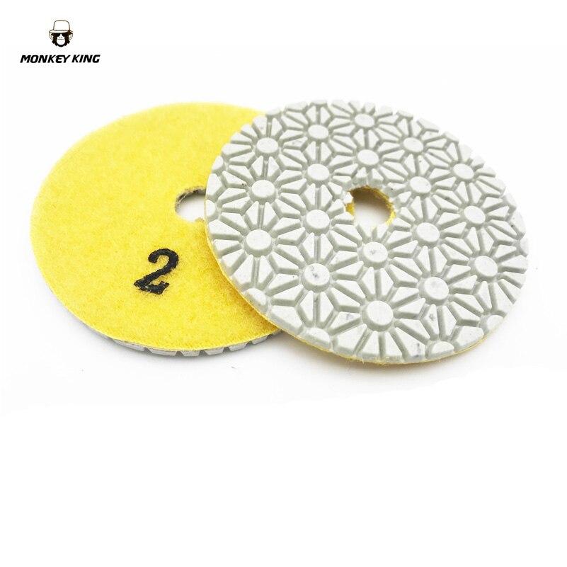 Dischi abrasivi diamantati per lucidare a secco / a secco dischi - Utensili elettrici - Fotografia 4