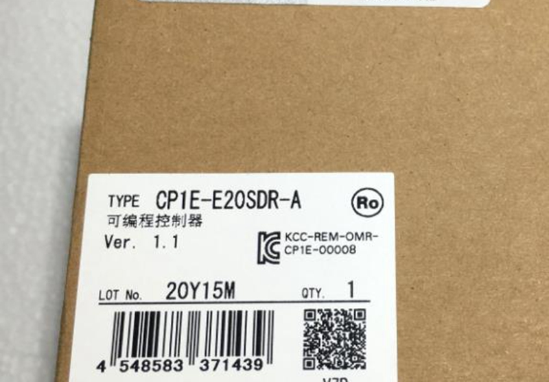 new original CP1E-E20SDR-A PLC MODULE in box 1 year warranty 1pc new in box original c200h ps221 c200hps221 plc module