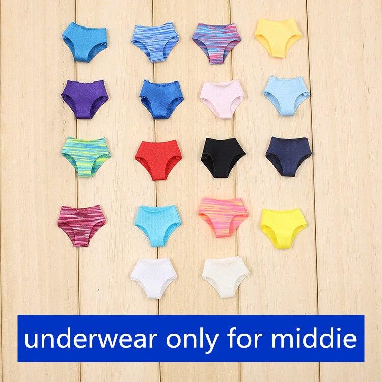 Middie Blythe Doll Colorful Underwear 1