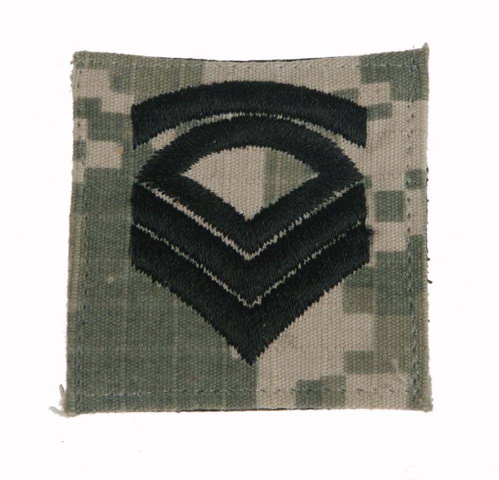 US ARMY SERGEANT FIRST CLASS ACU PATCH