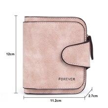 Zipper Short Clutch Letter Small Matte Wallet SF