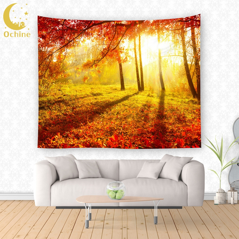 OCHINE Universe Tapestry Printed Tapestry Polyester Fabric ...