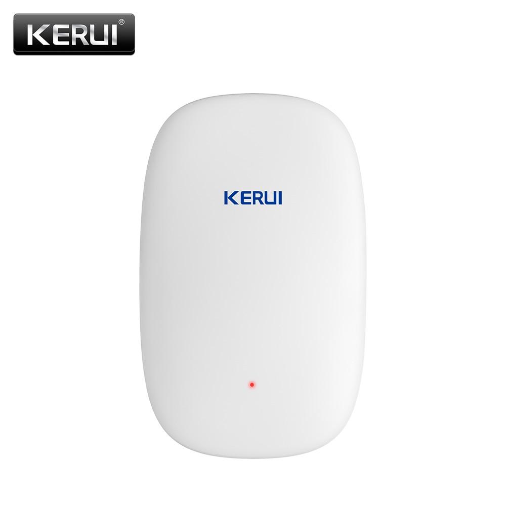 KERUI Z31 Wireless Door Window Vibration Detector Shock Sensor Alarm For G18 W18 W1 W2 G19 Burglar Security Alarm System golden security diy kit p819 wireless intelligent pir motion detector sensor for kerui g18 g19 w1 w2 w193 wifi gsm alarm system