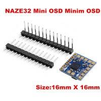 MICRO MINIMOSD Minim OSD Mini OSD W KV TEAM MOD For NAZE32 Flight Control