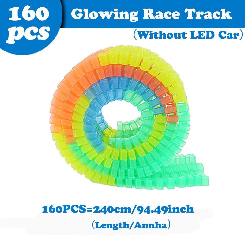 160Pcs Tracks
