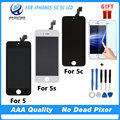 Good Quality AAA No Dead Pixel For iPhone 5 5G LCD Screen With Touch Digitizer Display Assembly Replacement  Black  White
