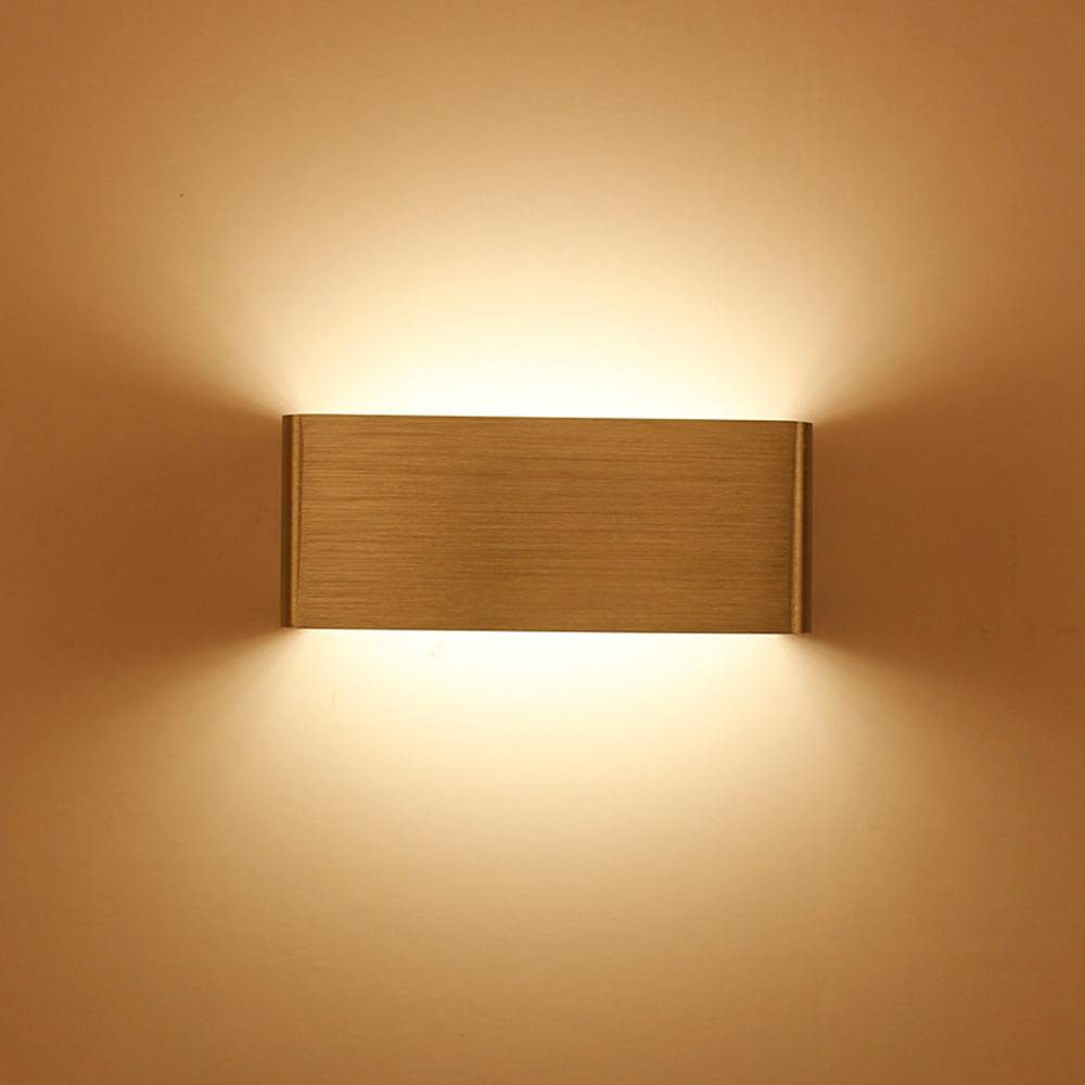 5W Aluminum led light bedside fixture led wall lamp modern fashion wall light indoor bedroom with