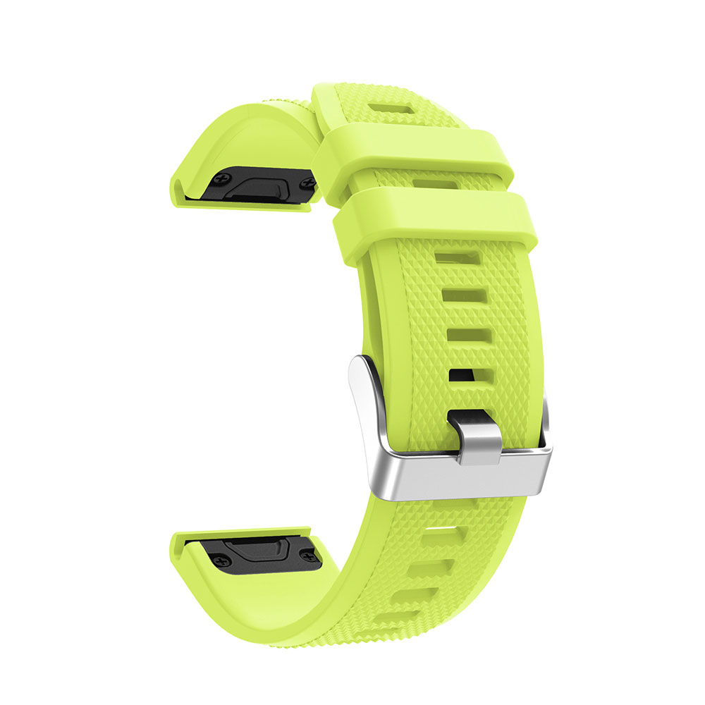 12 Colors Soft Silicone Replacement Wristband Watch Band Bracelet Strap For Garmin Fenix 5 For Smart Watch 22mm Wrist Band Strap