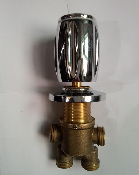 1 piece brass shower room mixing valve chrome plated - Chrome plated brass bathroom accessories ...