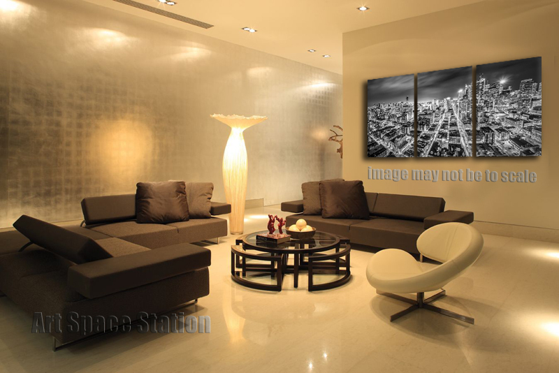 NO FRAMED Modern Cityscape Wall Art Decoration Downtown Toronto City ...