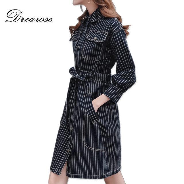 Dreawse Spring Women Denim Dresses Plus Size 200 Pounds 5xl High