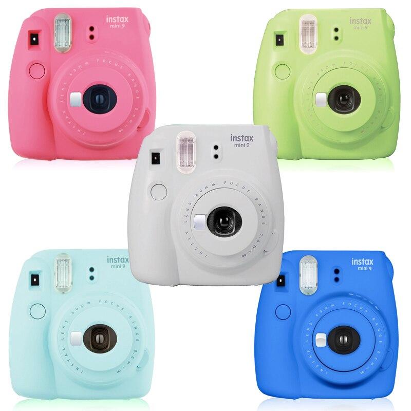 US $83 99 |Fujifilm Fuji Instax Mini 9 Mini9 Instant Photo Film Picture  Camera Series 5 Colors-in Film Camera from Consumer Electronics on