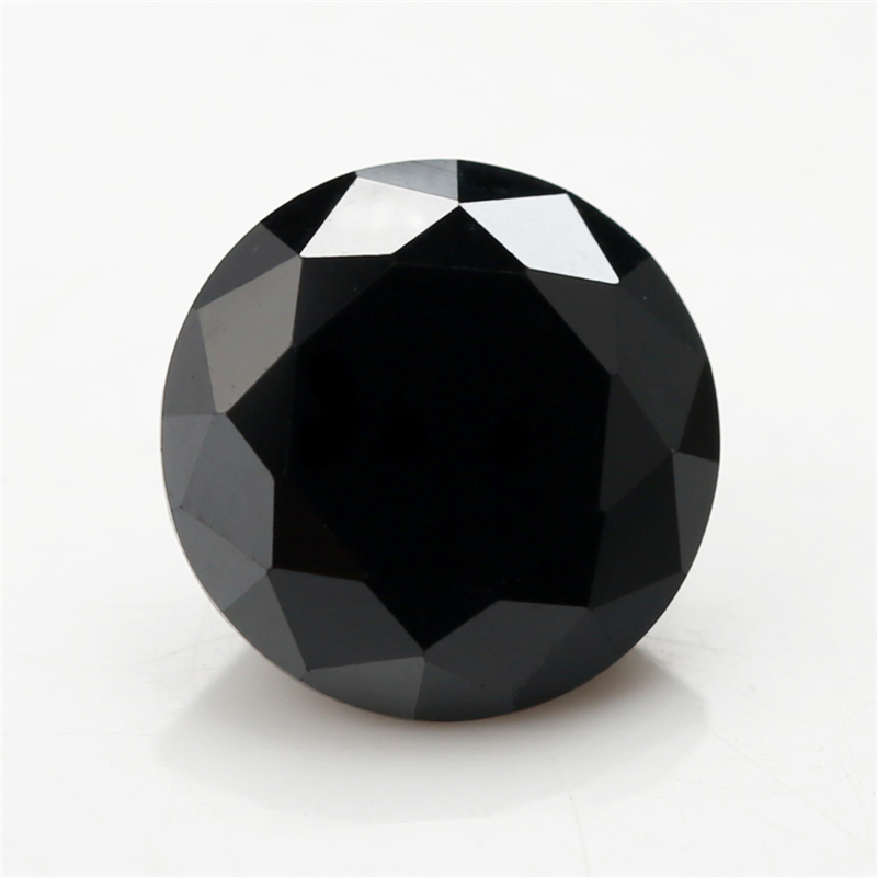 Купить размер 1 ~ 10 мм черная круглая форма бриллиантовая огранка