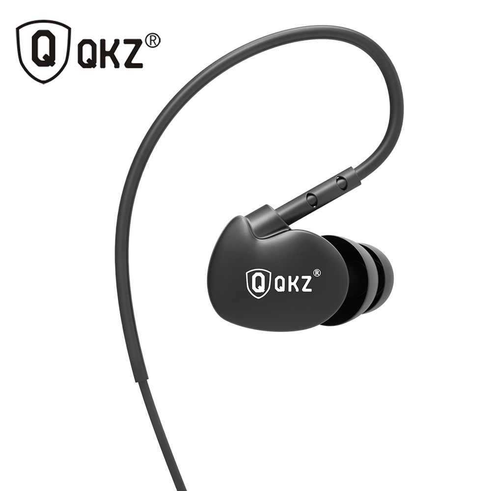Earphone Original QKZ DM800 3.5mm fone de ouvido HIFI Running Sport Earphones Super Bass Headset Noise Isolating For Phone MP3 earphones qkz dm2 original earphone good quality professional headset with microphone for mobile phone iphone fone de ouvido