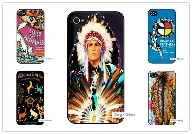 Indische federn native american case abdeckung für samsung galaxy s4 mini s5...