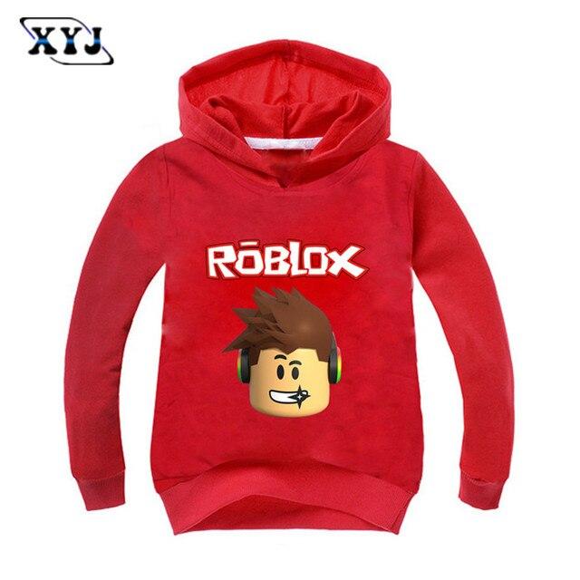 2017 otoño roblox camiseta para niños Niños sweayshirt