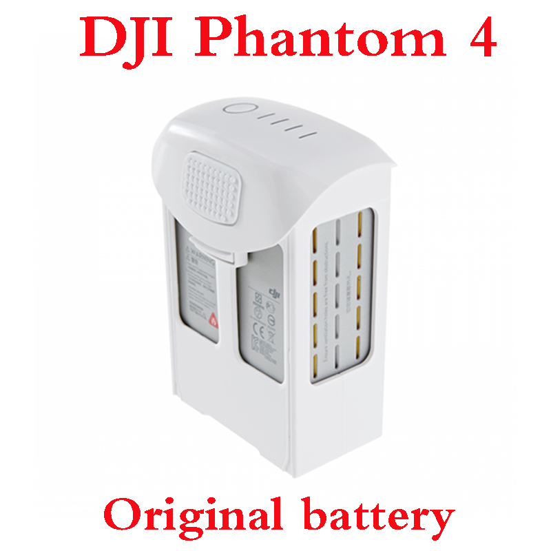 100% Original DJI Phantom 4 Battery 15.2V 5350mAh Intelligent Flight LiPo Battery DJI Phantom 4 Spare Parts (In stock)