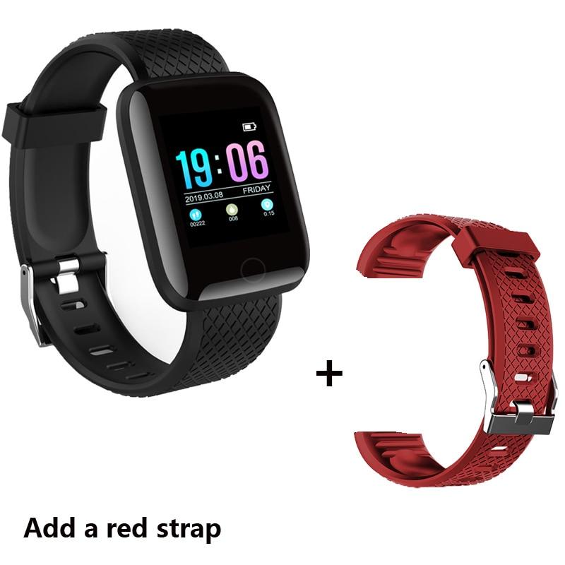 Add a red strap