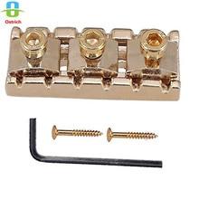 Gold Electric Guitar String Locking Nut For Floyd Rose Tremolo Bridge 43mm