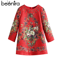 Beenira 2017 Autumn European And American Style Children Coat Embroidery Princess Dress Kids Embroidery Clothes Girls
