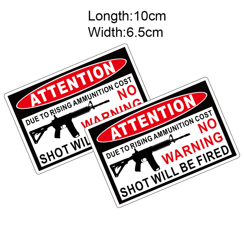 KODASKIN Emblem Free Shippping Attention Series Waterproof Sticker Hot Sell Label Sheet for Motorcycles Bicycles All Cars