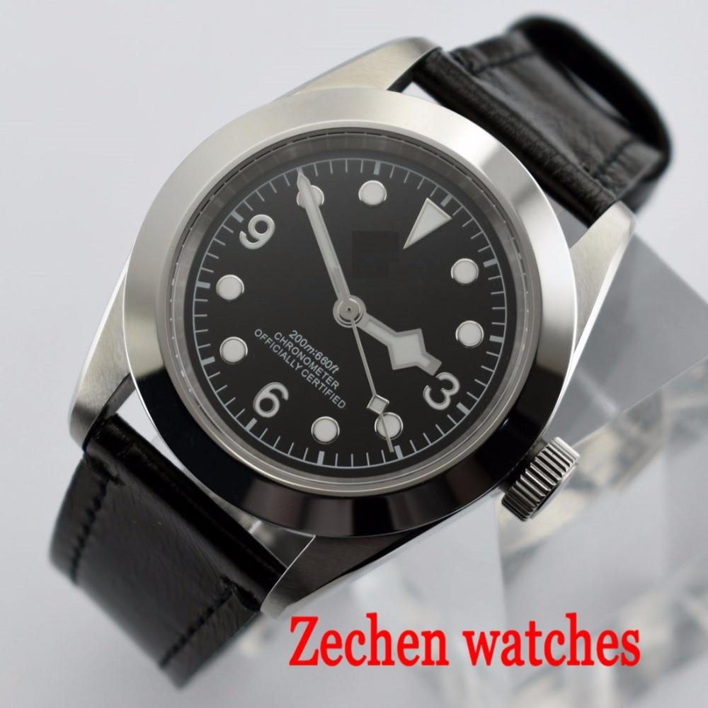 41mm Corgeut Mechanical Watch Miyota Automatic Mechanical Watch Luminous Waterproof Automatic Date Men's Watch все цены