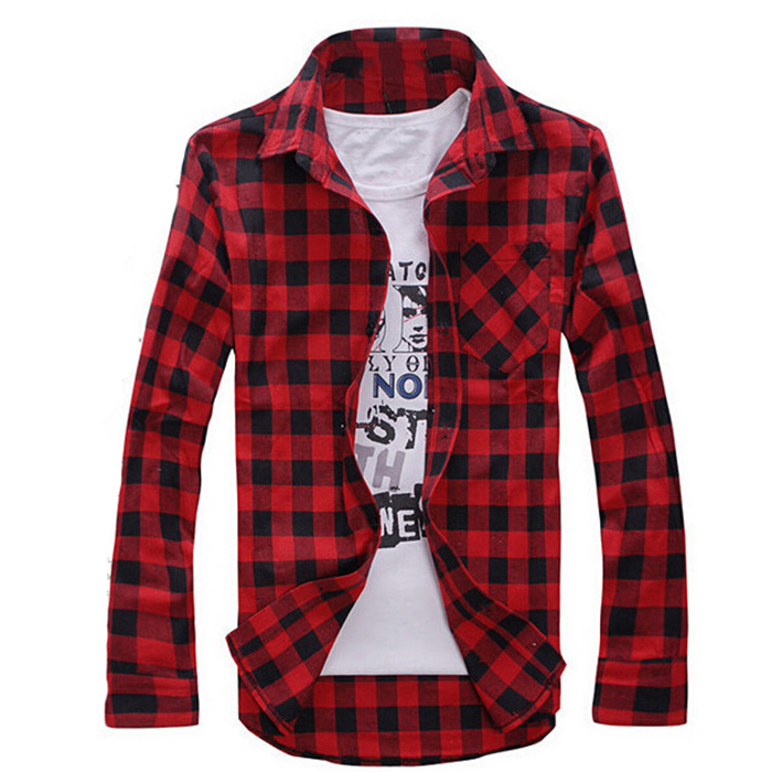 Popular stylish flannel shirts buy cheap stylish flannel for Types of flannel shirts