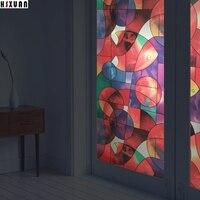 Waterdichte decoratieve Window Film 45x100 cm vis aanrecht decor Zelfklevende lijm Frosted raamstickers Hsxuan merk 451081