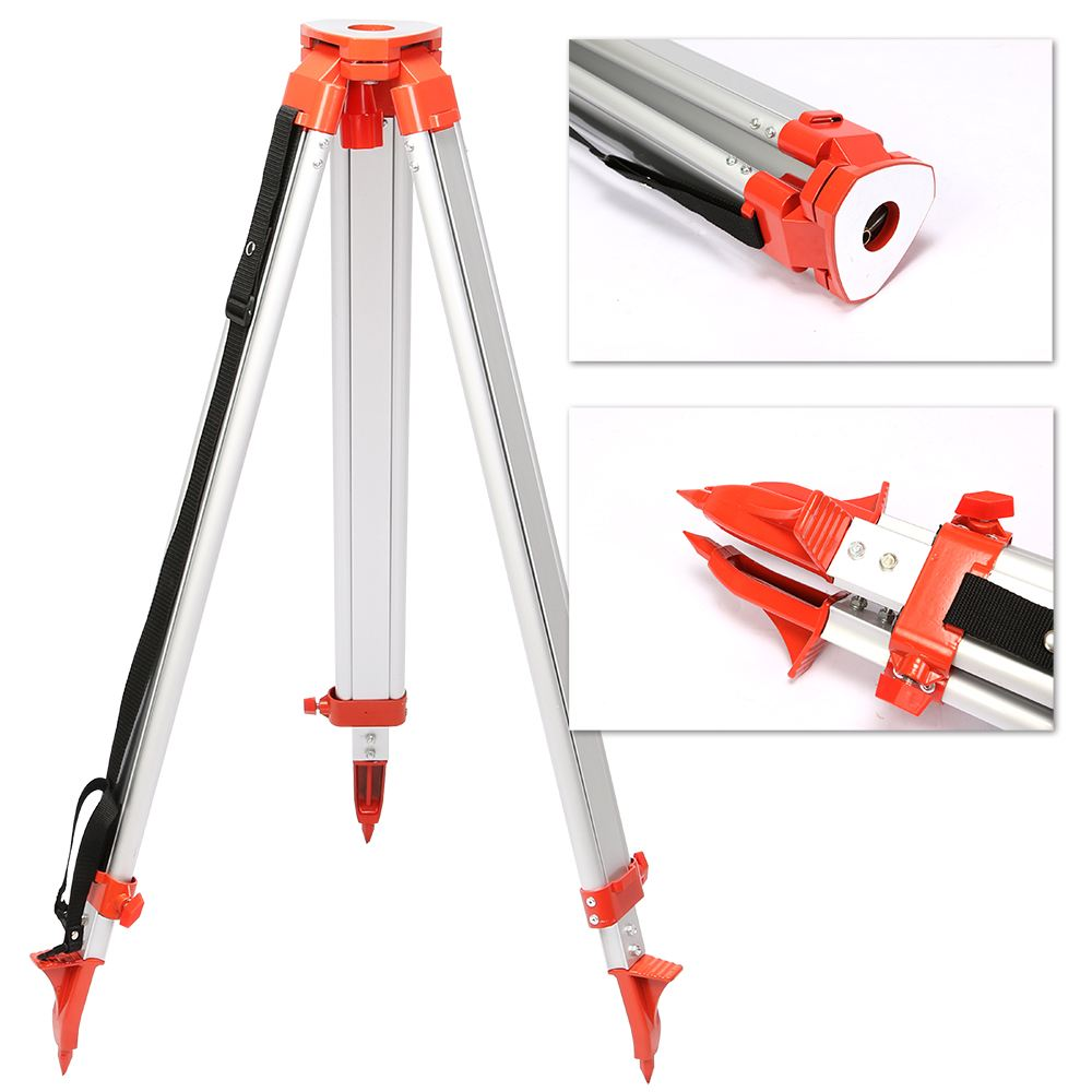 New Super combination 1.65M Aluminum Tripod + 5M Staff For Rotary Laser Leveltop