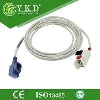 Free Shipping 6pin pediatric Finger Clip SpO2 Probe Sensor, Compatible Criticare /CSI 503DX, 503 spot 504DX, 506, 506DX