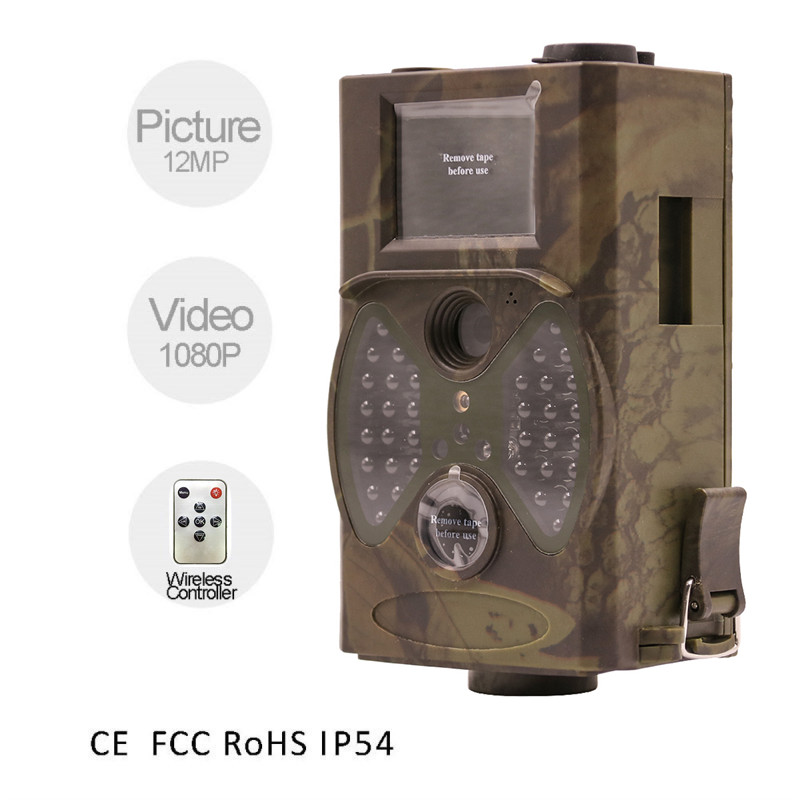 Camouflage Camera HC-300A Scouting Hunting Camera 12MP 1080p HD Digital Wildlife Trail Camera Infrared photo-traps for Hunting 12mp trail camera gsm mms gprs sms scouting infrared wildlife hunting camera hd digital infrared hunting camera