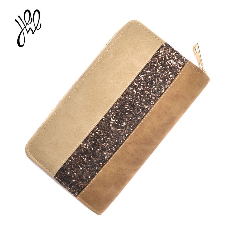 Women Wallet PULeather 2017 Luxury Brand Fashion Casual Lady Purse Zipper Vintage Long Party Clutch Card Holder WholesaleCheaper fashion women leather wallet clutch purse lady short handbag bag women small purse lady money bag zipper luxury brand wallet hot