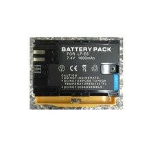 LP-E6N LP-E6 lithium batteries LPE6 Digital camera battery for Canon EOS 5D Mark II III 7D 60D 6D 5D4 80D 5DS 7D2 5DR
