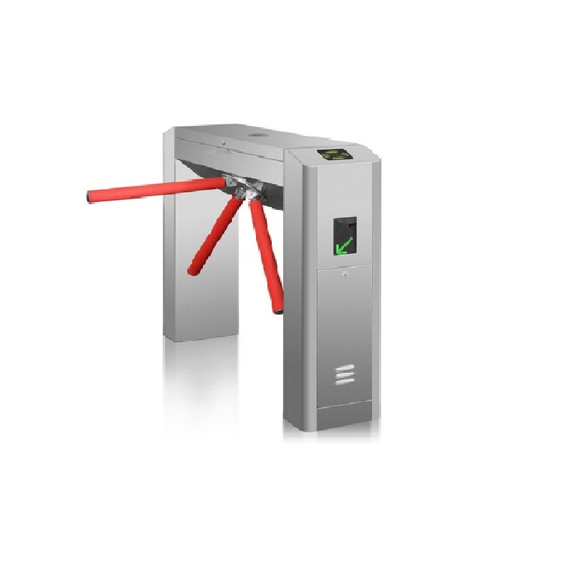 RFID full automatic bridge type tripod turnstile application parking gym building office access control system цена