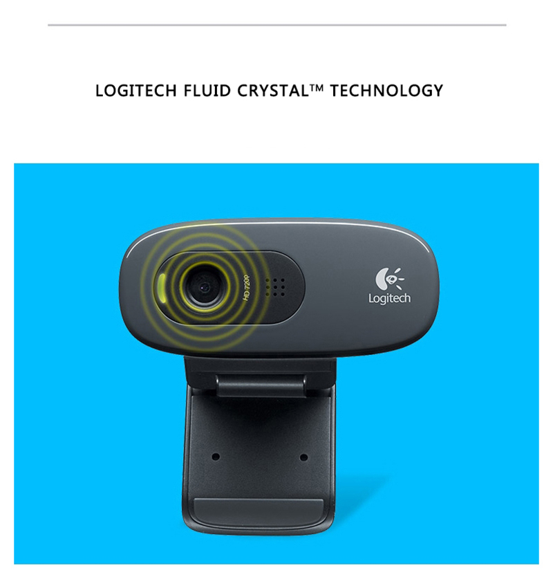 Logitech C270 HD Webcam 6