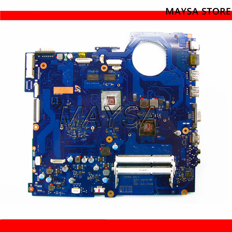 Carte Mère d'ordinateur portable Pour Samsung RV515 BA92-09429A BA92-09429B BA92-07849A BA92-07849B BA41-01534A E350/E450 CPU HD6470M 1G