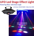 New 2016 UFO Led Stage Effect Light 75W RGBWY Colors with 3 DMX chs IEC In/Out Powercon Led Spider Moving Head DJ Disco Lights