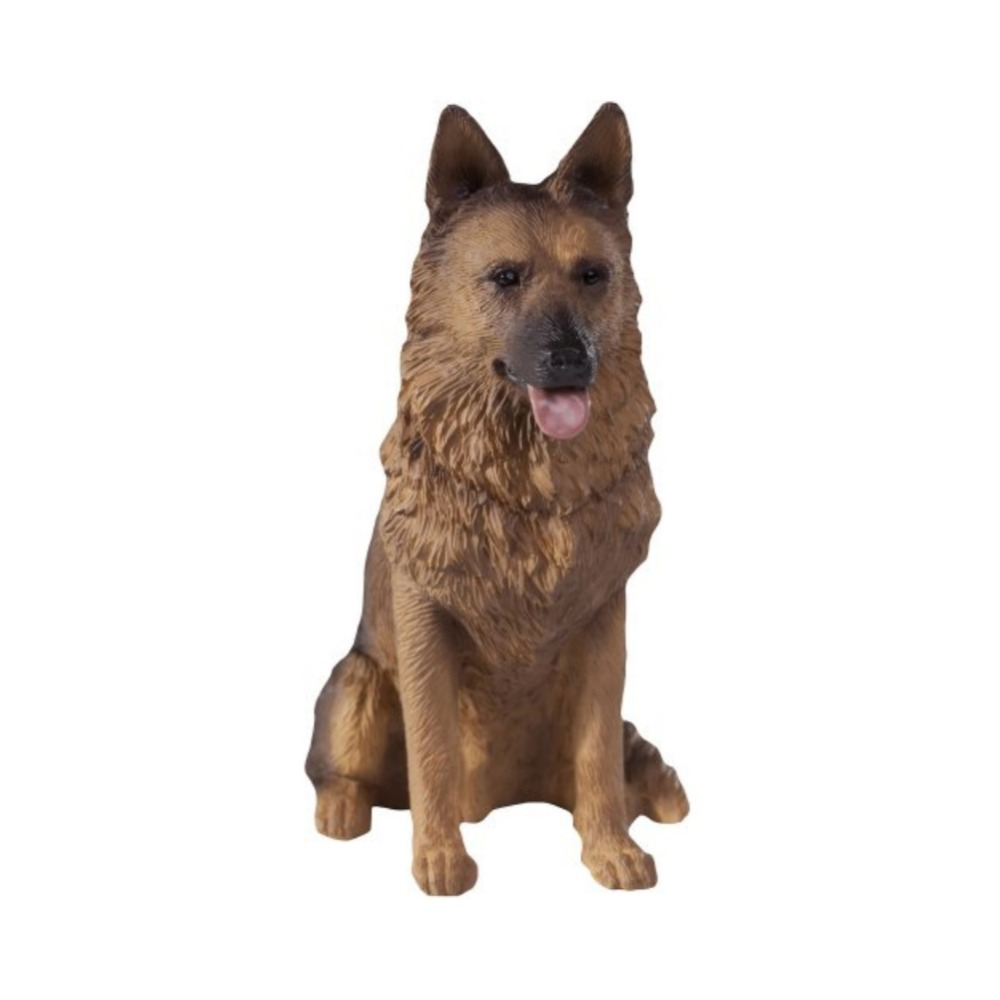 US $18.05 5% di SCONTO|Mini artificiale nero pastore tedesco cane resina  complementi arredo casa mestiere della resina cane figurine-in Statuine e  ...