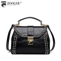 2018 Brand 100% Genuine Leather Tote Bags Women Casual Female Shoulder Bags Ladies Luxury Handbags Women Bags Designer s#c136