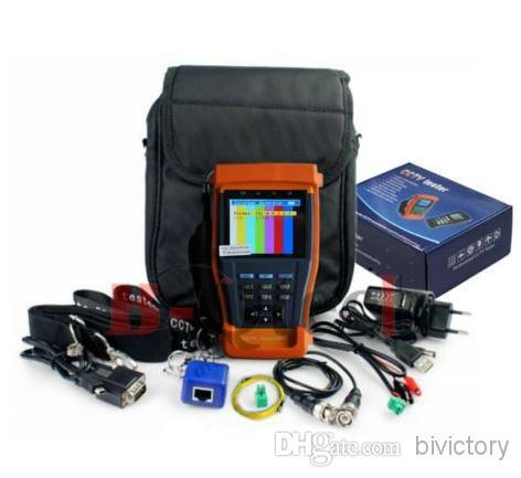 Stest 896 CCTV font b Security b font Tester PRO Audio Video 3 5 inch LCD