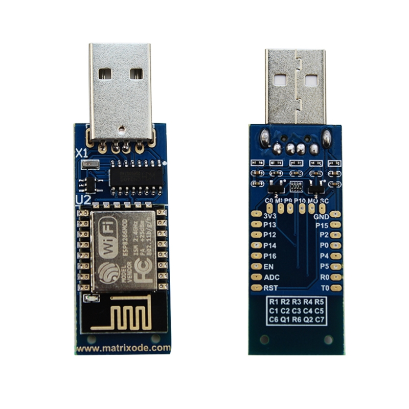 OCDAY ESP8266 CH340 chip USB Wireless Module Compatible with Nodemcu  Arduino PS4 WiFi