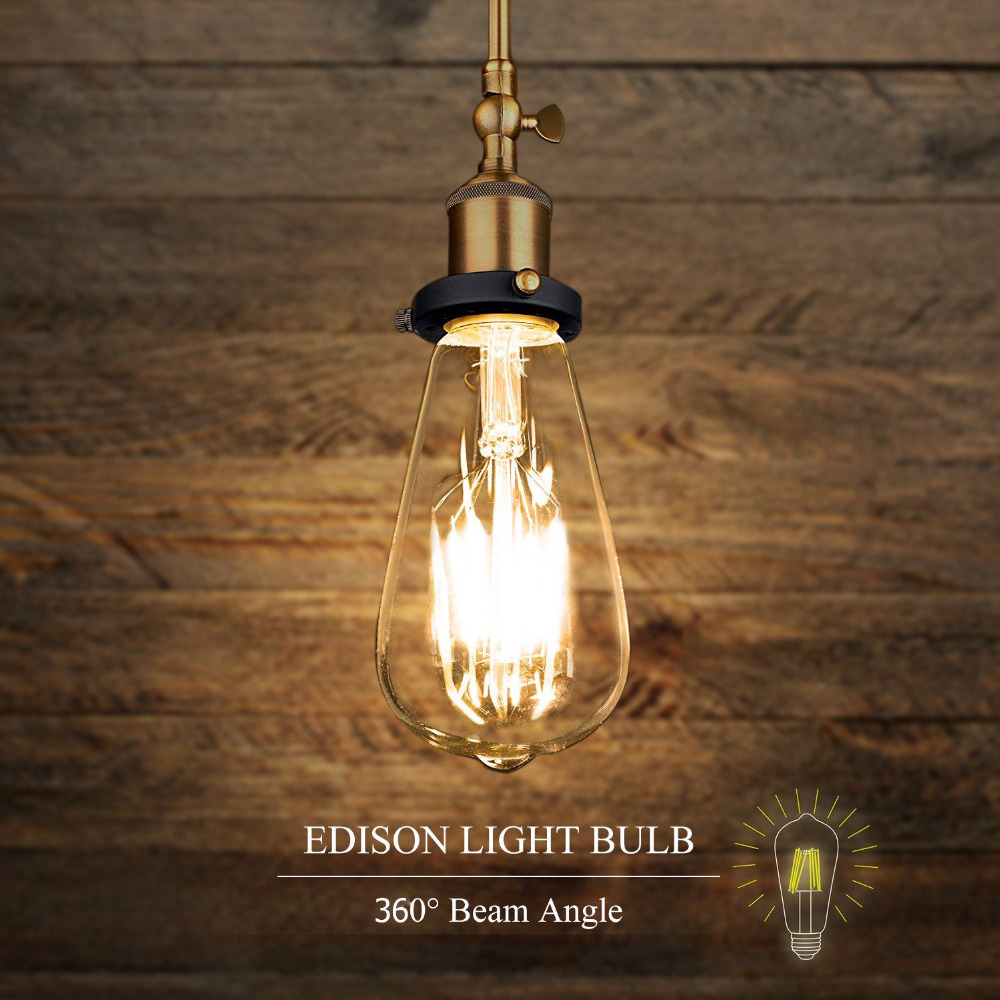 Dimmable led st64 4w 8w vintage edison bulb lamp e26 e27 led dimmable led st64 4w 8w vintage edison bulb lamp e26 e27 led filament light bulb with retro incandescent appearance in led bulbs tubes from lights arubaitofo Gallery